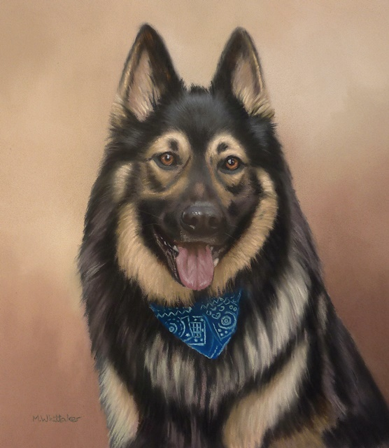 Original Pastel Painting Of Shiloh