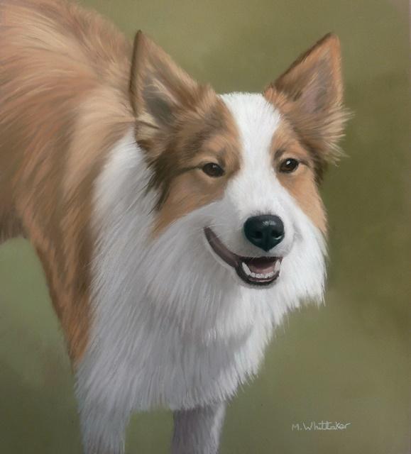 Original Pastel Painting of Bonnie.
