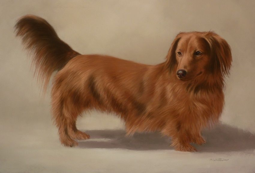 Original Pastel Painting of Oscar.