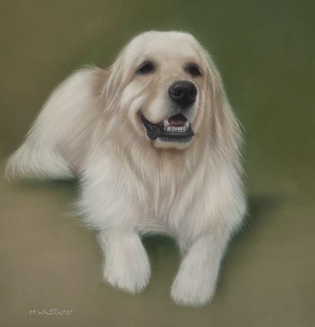 Original Pastel Painting Of Bogey