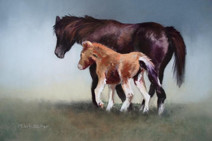 Mountain Pony & Foal