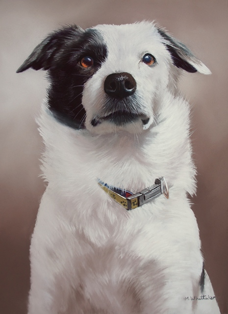 Original Pastel Painting Of Cash