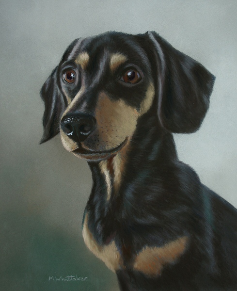 Original Pastel Painting Of Coco