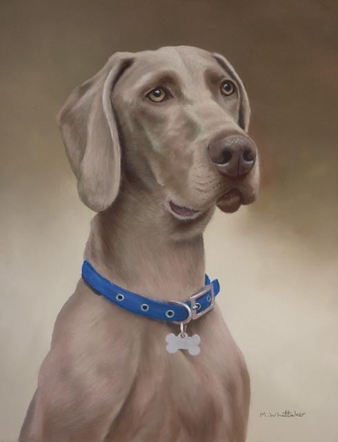 Original Pastel Painting Of Oscar