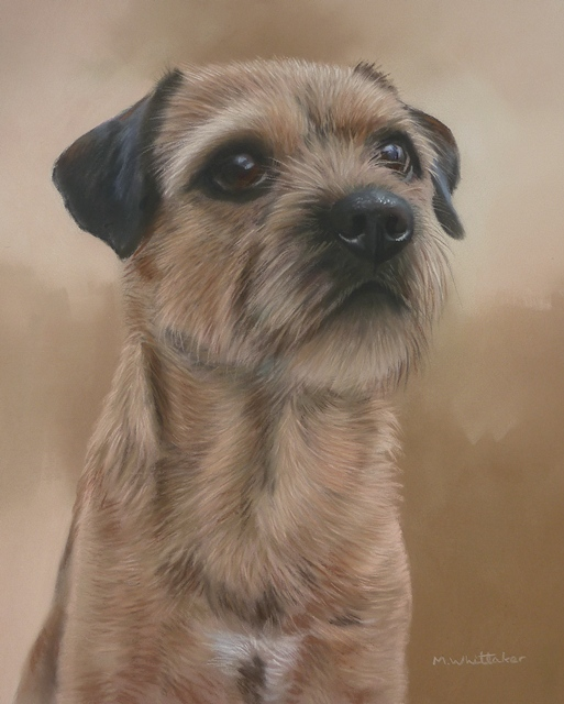 Original Pastel Painting Of Pip.