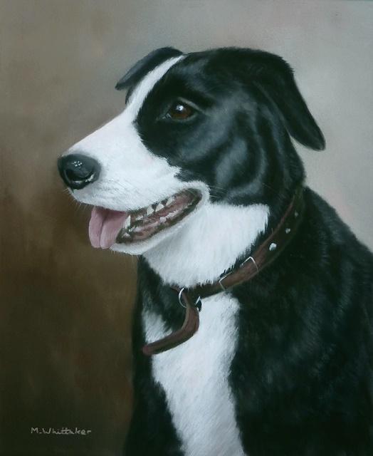 Original Pastel Painting of Gizmo
