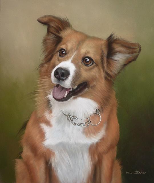 Original Pastel Painting Of Max