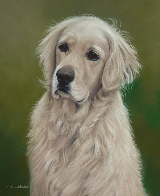 Original Pastel Painting Of Libby