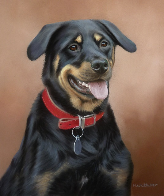 Original Pastel Painting Of Stan