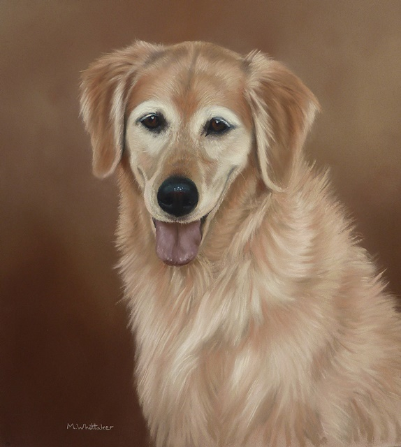 Original Pastel Painting Of Daisy Mae.