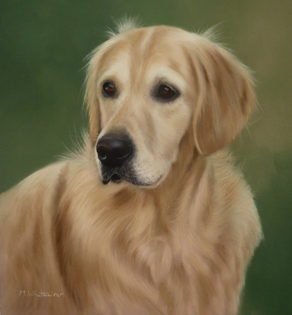 Original Pastel Painting Of Oscar