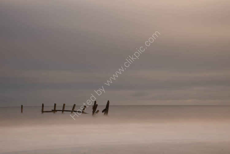 Happisburgh sea posts