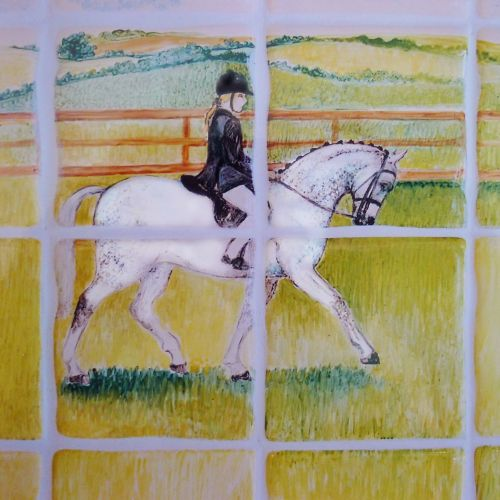 Any design you like ( This portrait is of horse and rider)