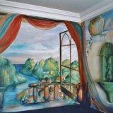 Hand Painted Mural for En-suite Bathroom