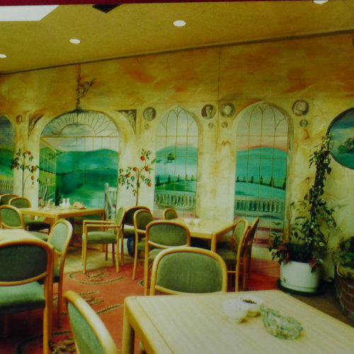 Hand Painted Murals for Hotels