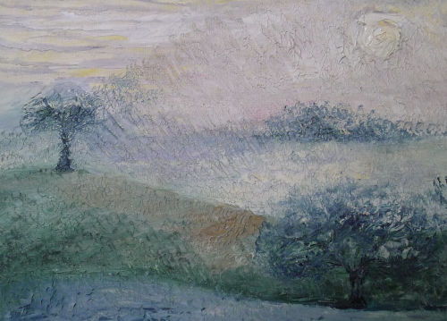 "Detail from ""Winter"""
