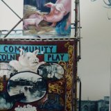 Lincoln Community Play 1983. Board at the top by Margaret