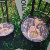 Photographs of Hand Painted Chair