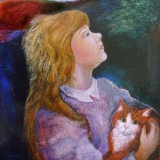Hand Painted Portraits of Children and their Pets