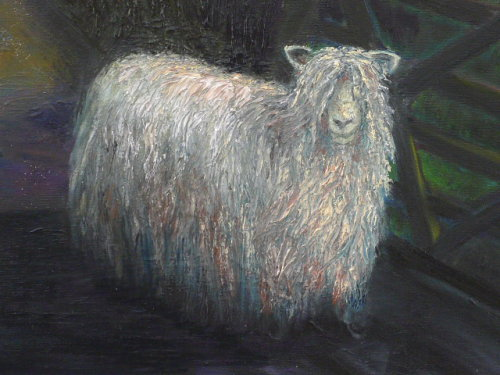Oil Paintings of Sheep. Your Lincoln Longwool?