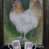 Tinted painting printed china