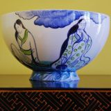 Exclusive large ornamental bowl