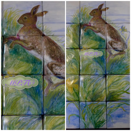 """Leaping Hare"" Detail. Sold"