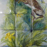 New Hare Kitchen Splashback, extended & for Sale on The Taylor Trilogy E-commerce site, 15 - 5 inch Tiles