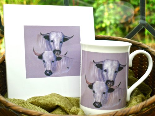 White Park Tiles £14.99 each. Mugs £7.99 (Printed not Hand Painted)