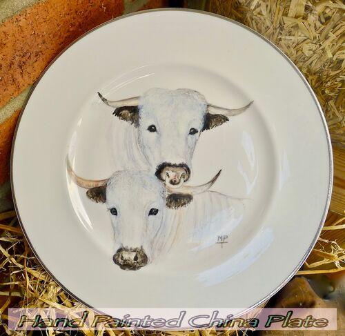 Farm Animals Hand Painted onto Fine Bone China