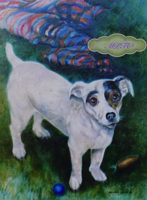 Portrait of Your Dog painted in Oils, a Bespoke Gift?