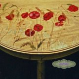 Close Detail of Poppy Table
