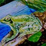 "Detail from ""Little Egrets"" Mural"