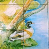 Selected Detail from Tile Mural