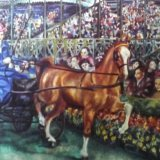 Oil Paintings of  Horses (detail) Commission your Portraits on this site or TheTaylorTrilogy.co.uk