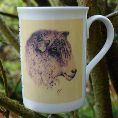 Limited Edition Printed Longwool Mug £7.99