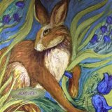 Hare Belles Tile 1. For sale on: TheTaylorTrilogy.co.uk Printed Limited Edition Prints £14.99 each.