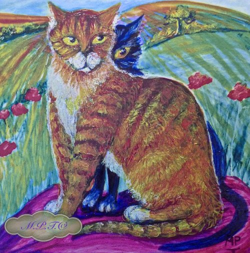 """2.""""Toast & Marmalade"""" Limited Edition Printed Version taken from Original Hand Painted Tile. £14.99 each."""
