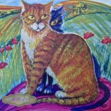 """2.""""Toast & Marmalade"""" Limited Edition Printed Version taken from Original Hand Painted Tile"""