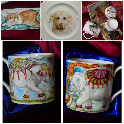 Variety of Bespoke Hand Painted Commissions.