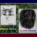Quick Draw £10 - Slow Draw £25 Gallery 'Portraits Painted & Drawn'