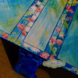 Summer Table. Hand Painted Commission