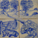 "Badgers four Tile Splashback. For Sale on ""The Margaret Taylor Collection"""