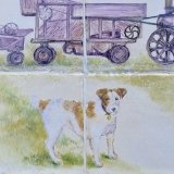 "Detail from ""Dog & Threshing Machine"""