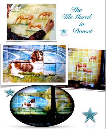 "Supply ideas and images (""How to Commission a Tile Mural"") below or on Home page"