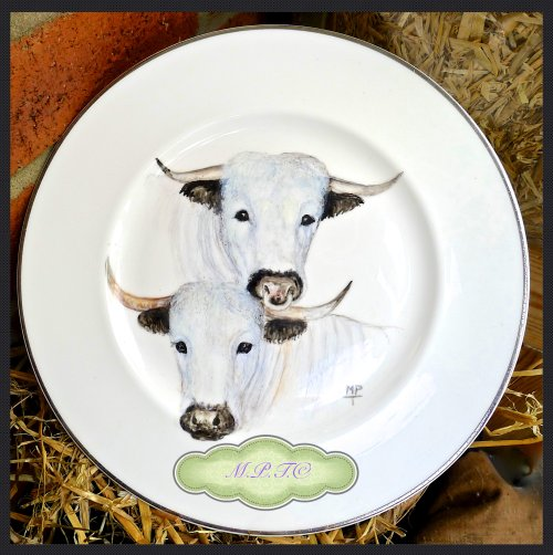 Farm Animals Hand Painted onto Fine Bone China