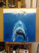Jaws painting