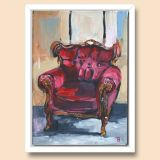 Old Chair in studio