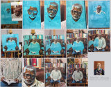 Process of Dele oil painting