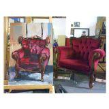 Chair in studio
